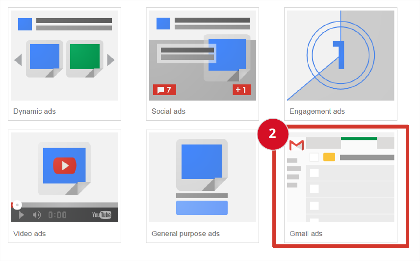 GSP dans la console Google Adwords