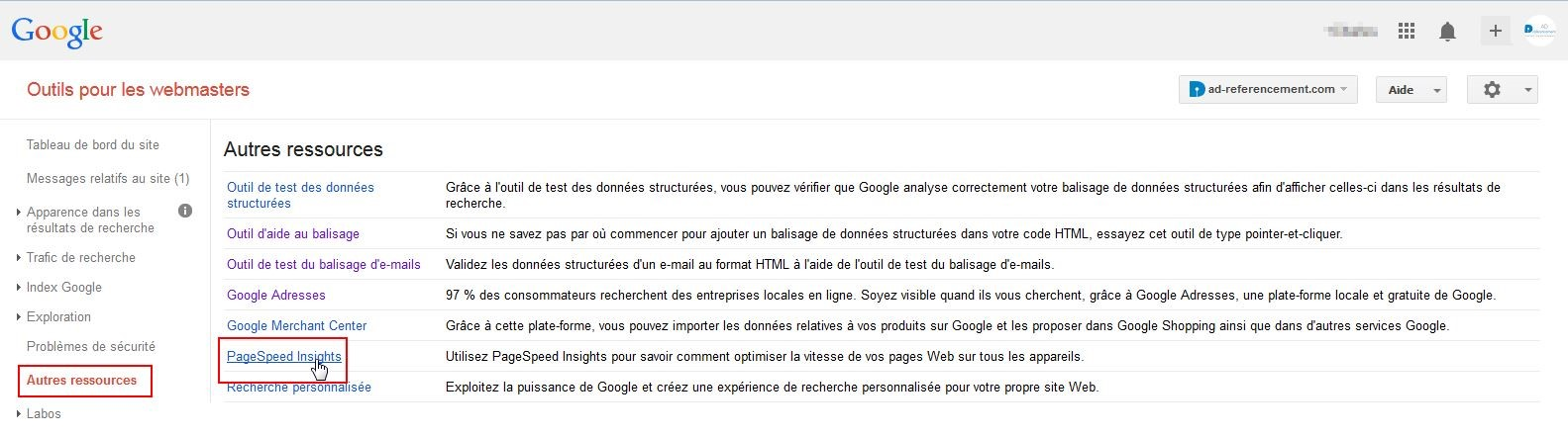Google-pagespeed-insghts