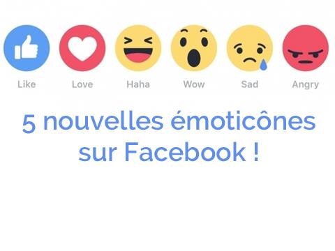 5 Nouvelles Emoticones Sur Facebook
