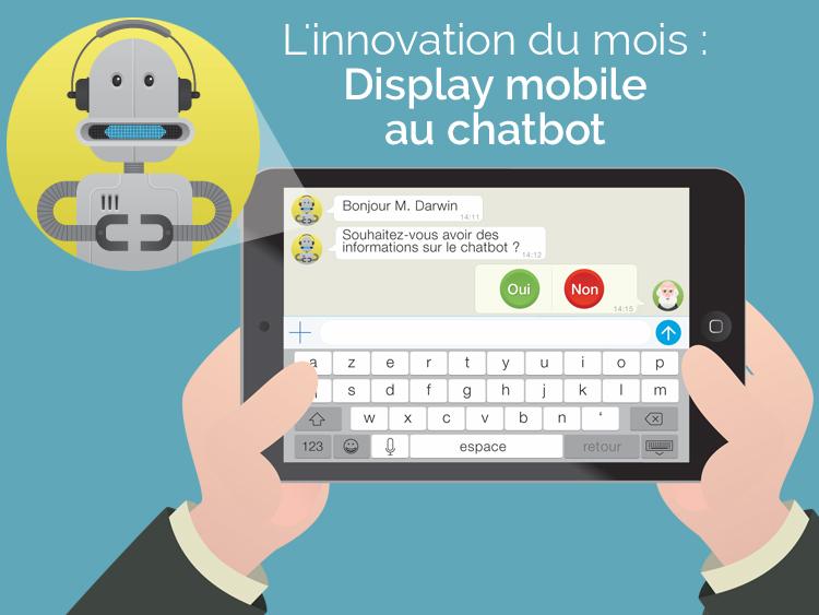 Display-mobile-to-chatbot
