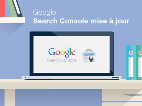 Google Search Console Mise à jour